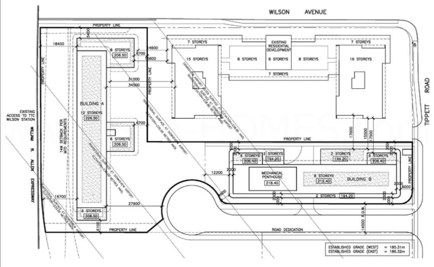 Condo Development Site Plan