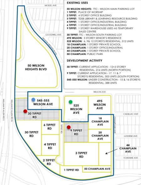 30 Tippett Road Site Plan